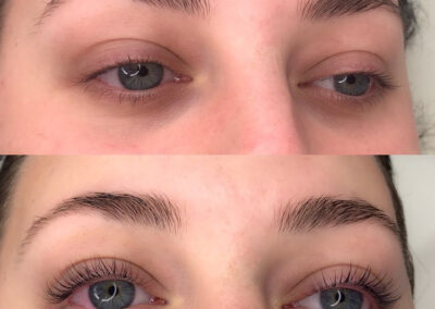 Gallery - Permalash lashes Before and after - Permalash