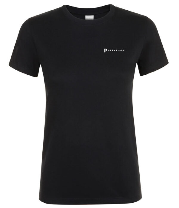Permalash branded t-shirt - Womens - Permalash tint