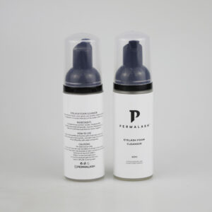 Permalash Foaming Lash Cleanser - Front and Back of Bottles - Permalash